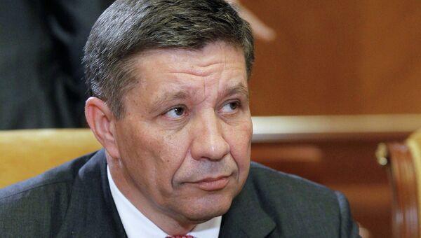 Глава Роскосмоса Владимир Поповкин