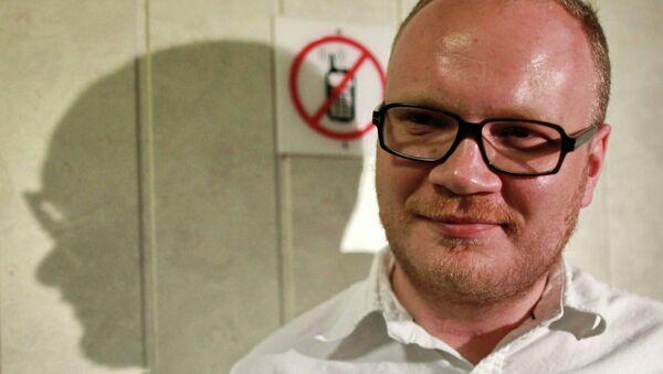 Журналист Олег Кашин. Архив