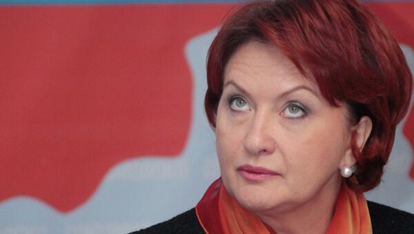 Бывший министр сельского хозяйства РФ Елена Скрынник.