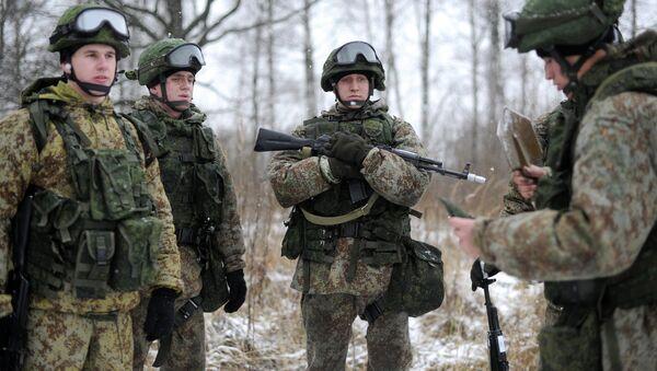 Новая боевая экипировка для военнослужащих сухопутных войск Ратник. Архивное фото