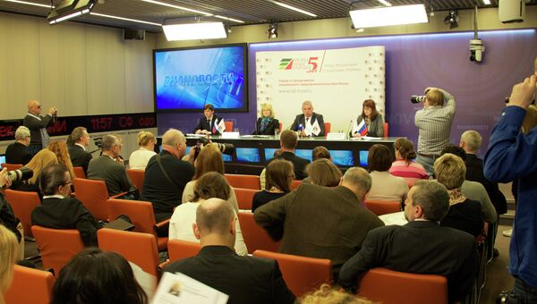 Пресс-конференция в РИА Новости «Социальное предпринимательство. Пять лет в России»