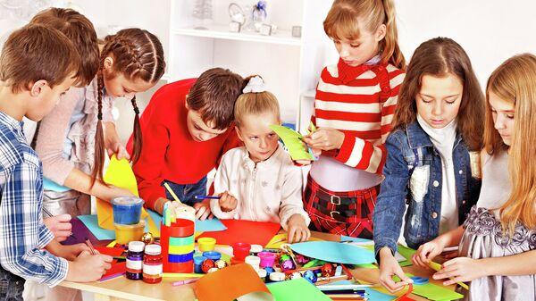 Детский кружок рисования