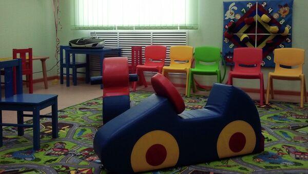 Лекотека для детей-инвалидов в Новосибирске