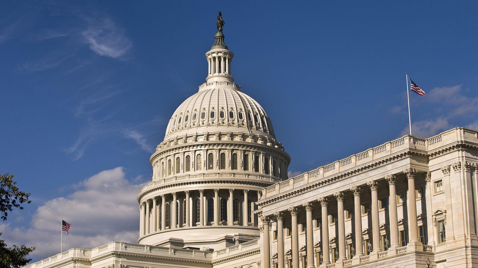 Здание американского Сената в Вашингтоне  - РИА Новости, 1920, 03.10.2021