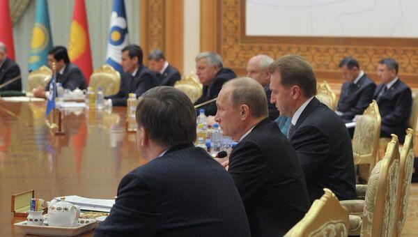 Рабочий визит президента РФ Владимира Путина в Туркменистан