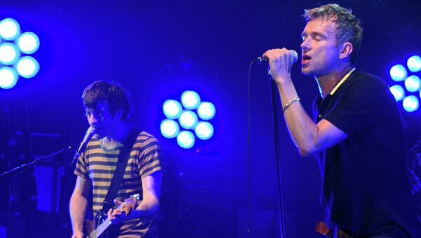 Концерт группы Blur