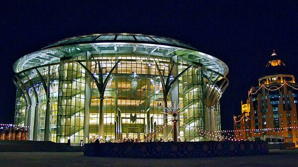 Здание Московского Международного Дома Музыки. Архивное фото
