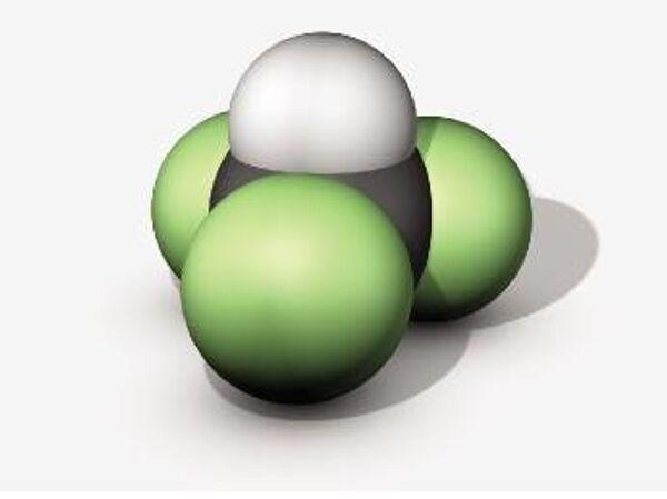 Модель молекулы фтороформа