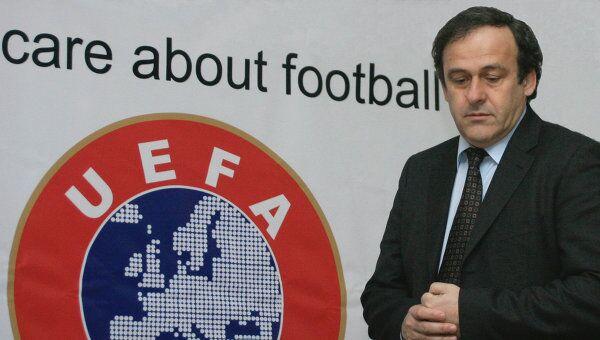 Символика УЕФА. Архивное фото