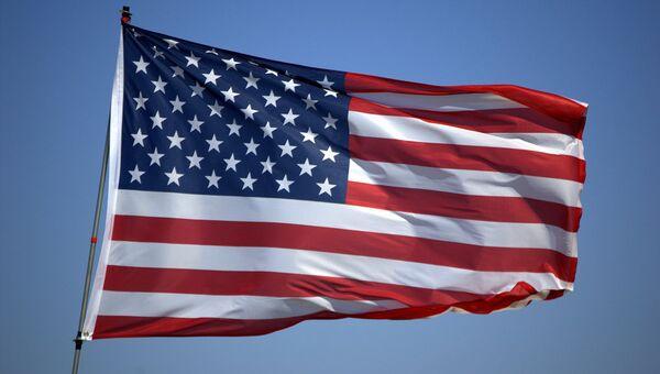 Американский флаг, архивное фото