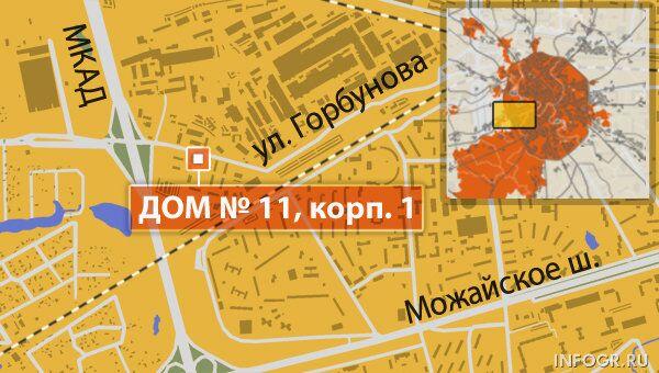 Улица Горбунова в Москве