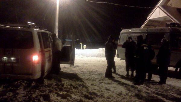 Поиск пропавшего вертолета в Тверской области