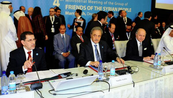Встреча Друзей Сирии в Марокко