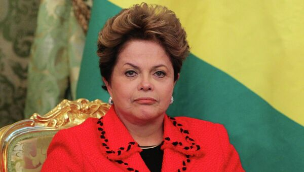 Президент Федеративной Республики Бразилия Дилма Роуссефф. Архивное фото