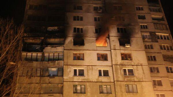 Взрыв жилого дома в Харькове