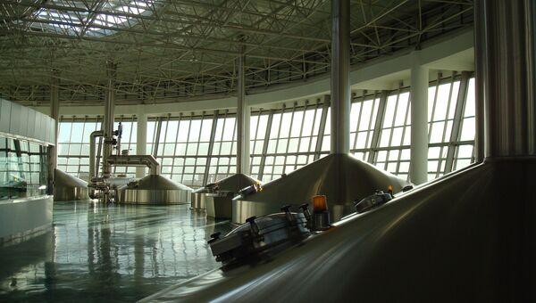 Завод по производству пива, архивное фото
