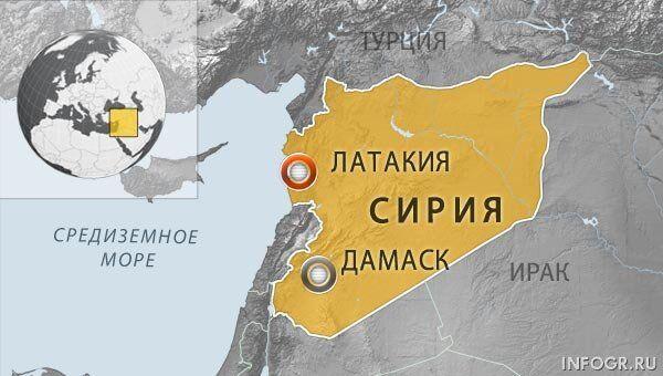 Двое россиян похищены в Сирии вместе с гражданином Италии