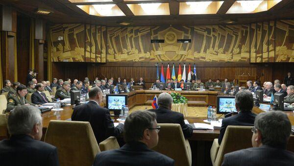 Совместное заседание уставных органов ОДКБ в Москве