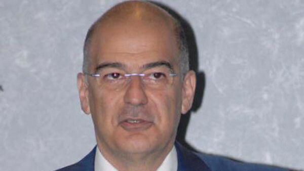 Министр общественного порядка и защиты граждан Греции Никос Дендиас