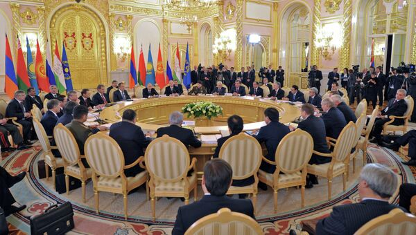 Сессия Совета ОДКБ в Кремле