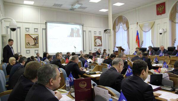 Депутаты Костромской областной думы, архивное фото