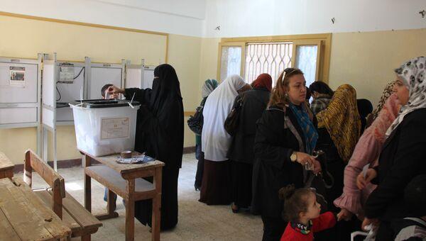 Второй тур референдума по конституции начался в Египте