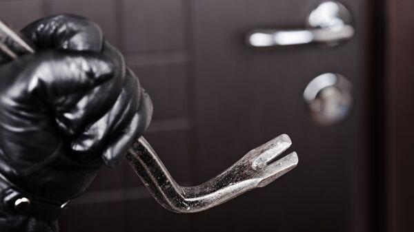 Ограбление квартиры. Архивное фото