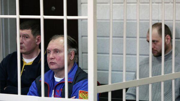 Подсудимые Виталий Швецов, Александр Трунов и Андрей Иванов