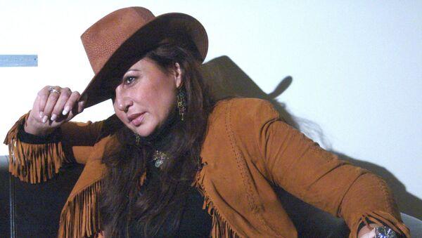 Звезда мировой оперной сцены, солистка театра Ла Скала Мария Гулегина, архивное фото