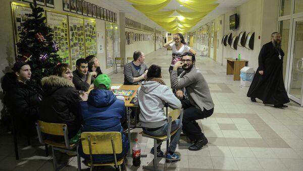 Забастовка студентов РГТЭУ в Москве