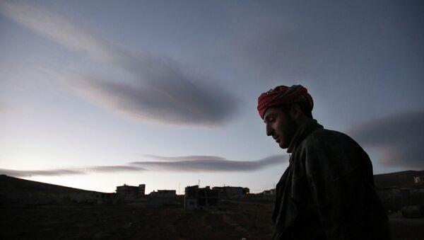 Сирийские беженцы в долине Бекаа в Ливане. Архив