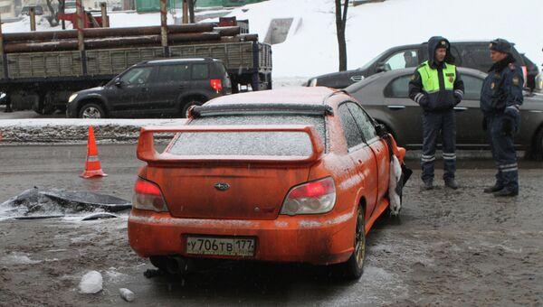 ДТП на Проспекте Вернадского в Москве