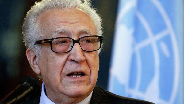Спецпредставитель ООН и ЛАГ по Сирии Лахдар Брахими