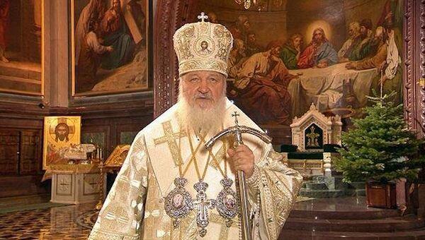 Патриарх Кирилл поздравил православных верующих с Рождеством Христовым