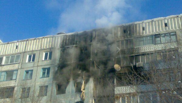 Взрыв дома в Новокузнецке