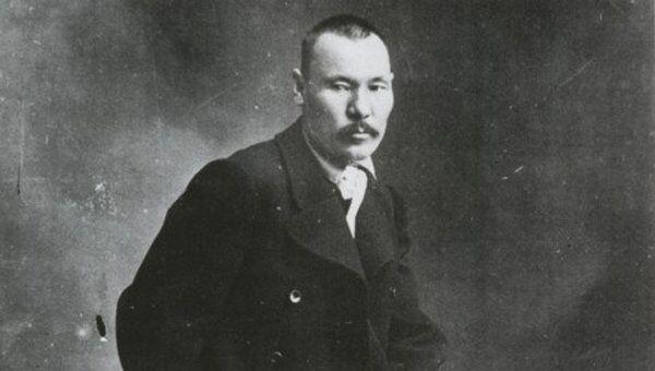 Алтайский художник Григорий Чорос-Гуркин. Архивное фото