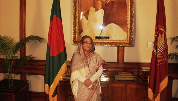 Премьер-министр Бангладеш Шейх Хасина, архивное фото