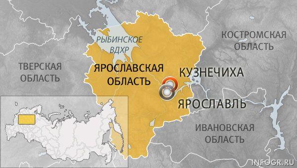 Поселок Кузнечиха в Ярославском районе региона