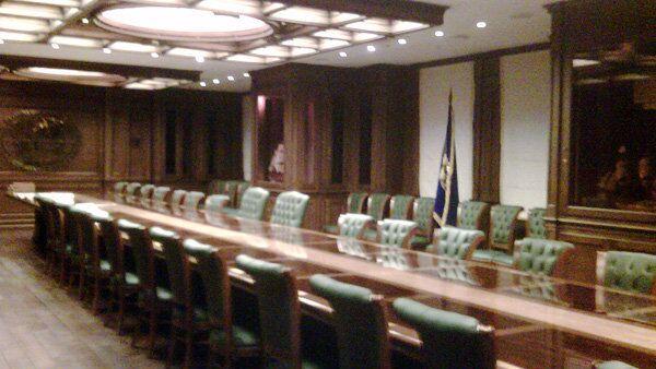 Лекторий штаб-квартиры РГО в Москве