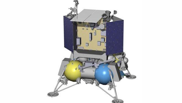 Посадочный зонд Луна-Глоб-1, архивное фото
