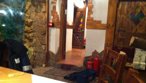 Фото с места убийства криминального авторитета Деда Хасана