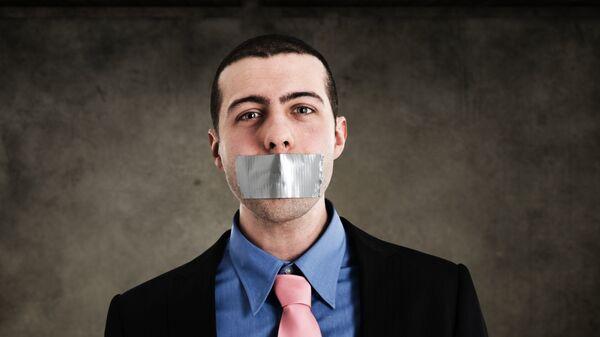 Молчание. Архивное фото