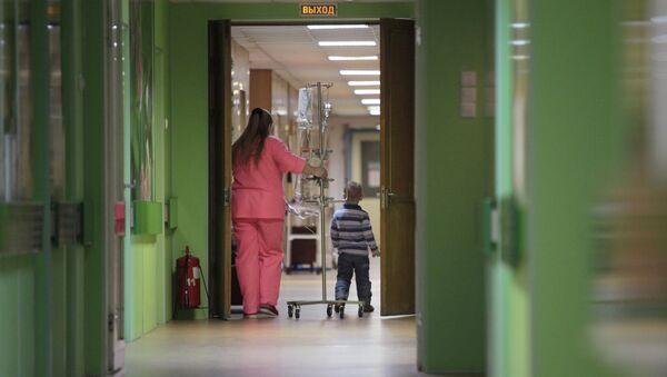 Деткое онкологическое отделение городской больницы №31 в Санкт-Петербурге