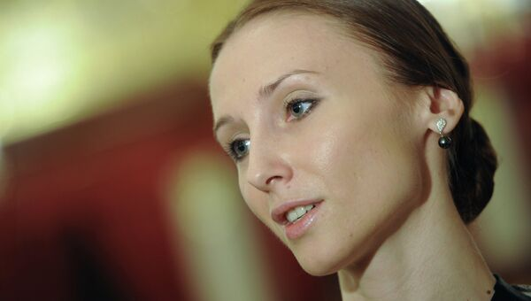 Народная артистка России, прима-балерина Большого Государственного Академического Театра Светлана Захарова. Архивное фото