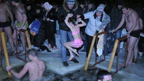Праздник Крещения Господня в Москве