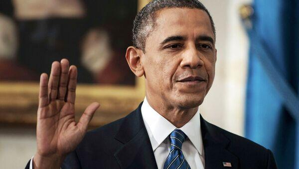 Обама официально вступил в должность президента США во второй раз