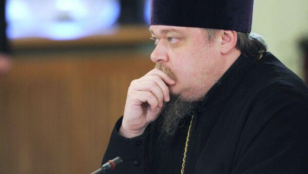 Протоиерей, председатель синодального отдела по взаимодействию церкви и общества Московского патриархата Всеволод Чаплин