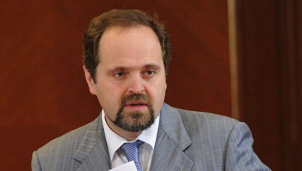 Министр природных ресурсов и экологии РФ Сергей Донской, архивное фото