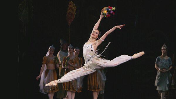 Галина Степаненко в балете Баядерка