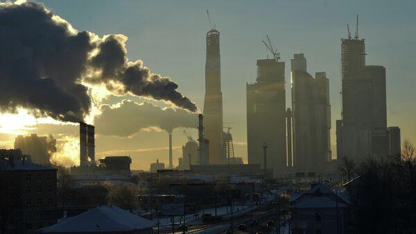 Вид на Москва-сити. Архивное фото